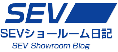 SEVショールーム日記 logo