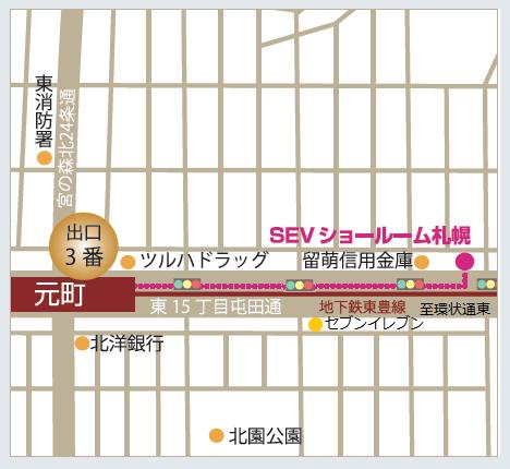 SR札幌地図